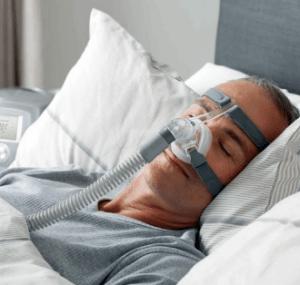 CPAP sleeping device