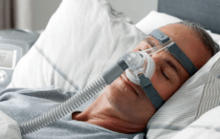 CPAP sleeping device