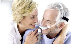 CPAP home-based sleep study